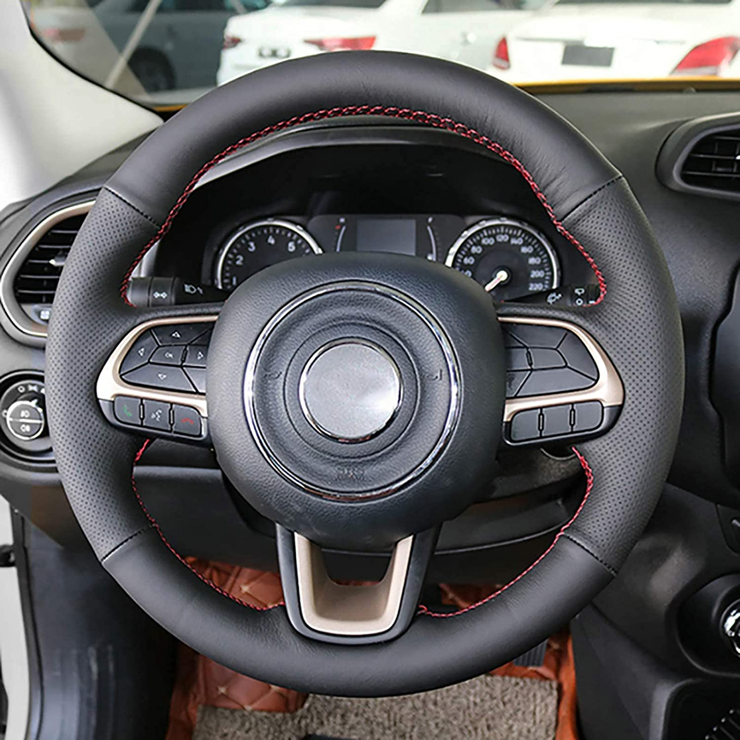 Qind1aS For Jeep Renegade 2016 2017 2021 model 2019 Wheel 2018 Car Steering Memphis Mall