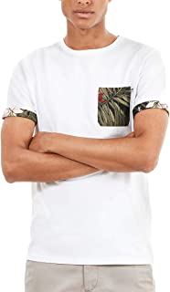 Timberland Mens Ss Printed Pocket T-Shirt
