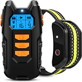 Best Flittor Dog Training Collar, Shock Collar for Dogs with Remote, Rechargeable Dog Shock Collar, 3 Modes Beep Vibration and Shock Waterproof Bark Collar for Small, Medium, Large Dogs… Review