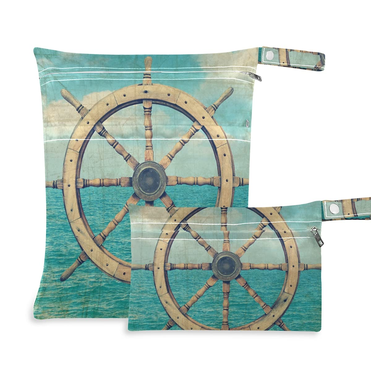 Steering Wheel Wet Dry Bag Quality inspection Swimsuits for Diaper Oklahoma City Mall Reusable