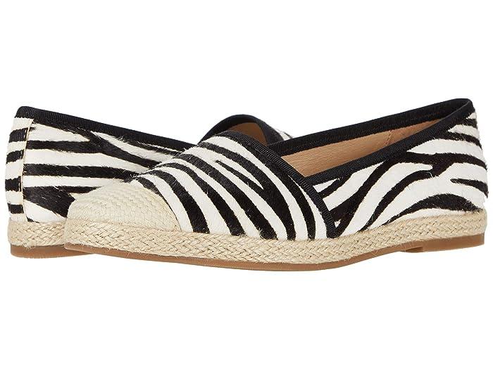 David Tate  Paradise (Zebra Nubuck Fabric) Womens Shoes