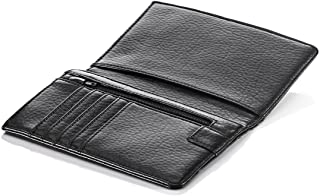 Travel Smart by Conair RFID Blocking Passport Holder Wallet, Black