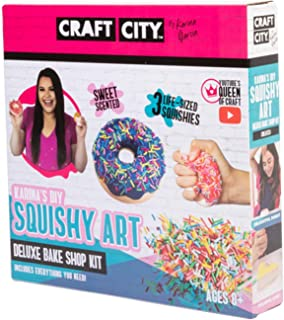 Craft City Karina Garcia DIY Kit for Squishy Art Bake Shop | Make Your Own Toys | Ages 8+