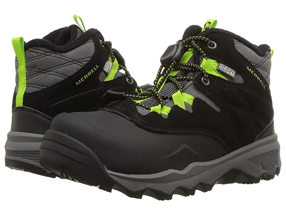 Merrell Kids Thermoshiver (Little Kid) (Grey/Green) Boys Shoes