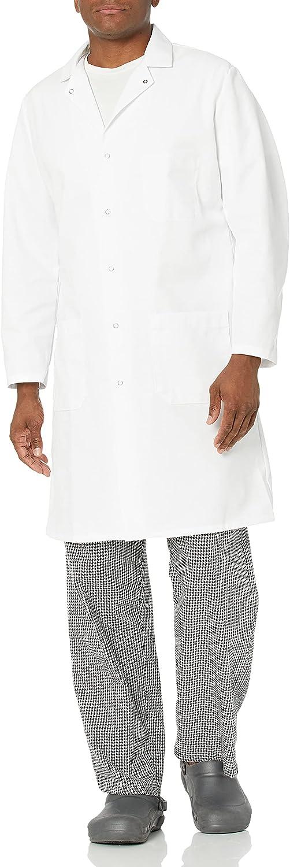 Red Kap Men's Gripper Coat Butcher High order outlet Front