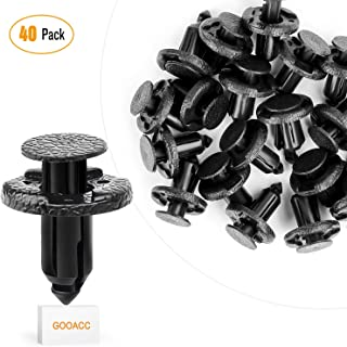 MOTOALL Bumper Shield Clips Retainer Fastener for Nissan Infiniti 01553-09321 Replacement 50PCS