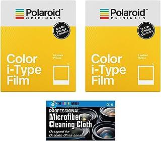Impossible/polaroid färg glansig omedelbar film för polaroid original I-typ OneStep2-kamera – 2-pack