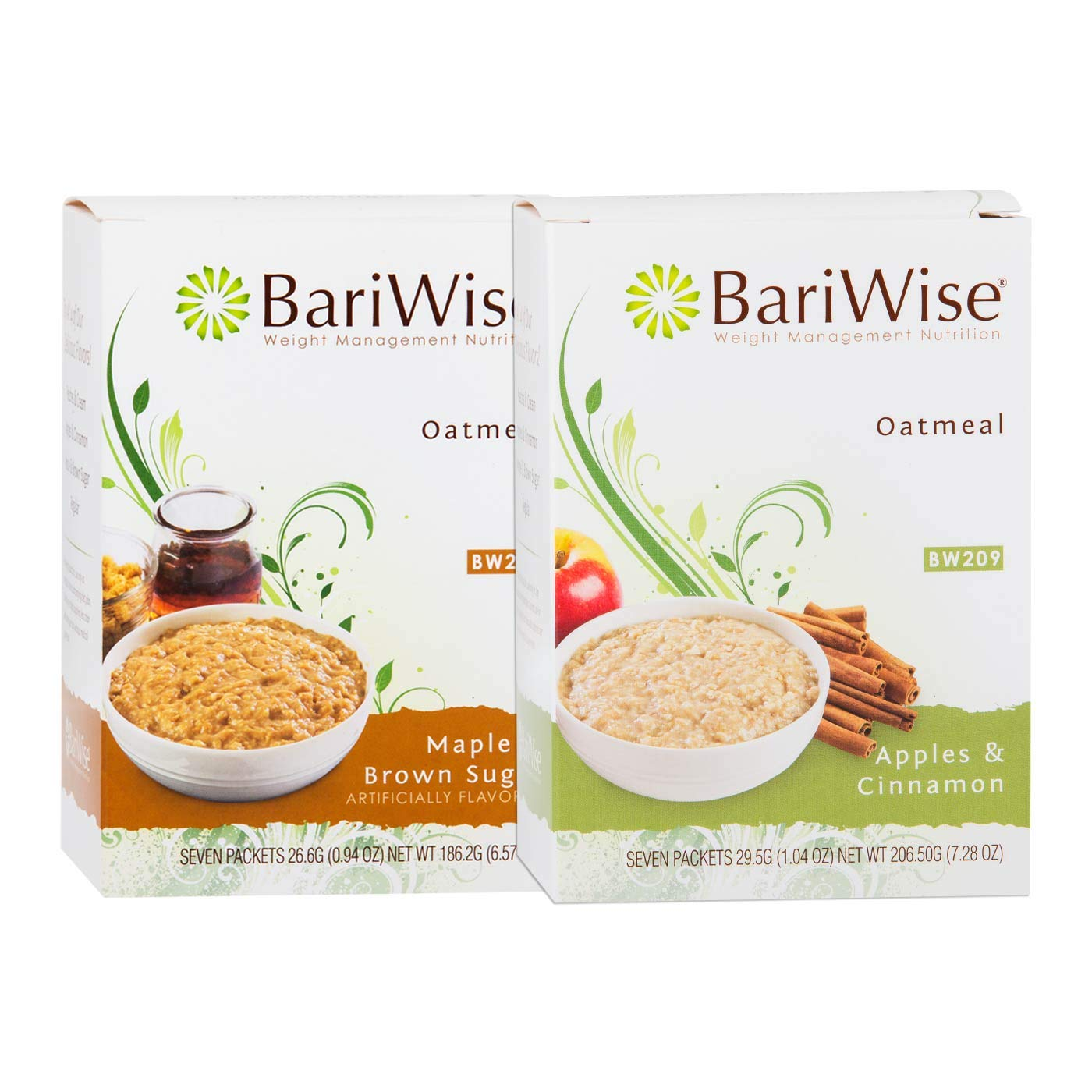 BariWise Protein Max 86% OFF Oatmeal Bundle Maple Apples Brown Sugar and Max 88% OFF