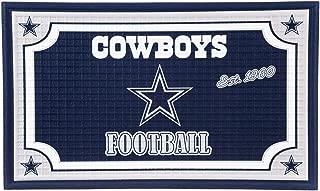 Team Sports America 41EM3808 Dallas Cowboys Embossed Door Mat