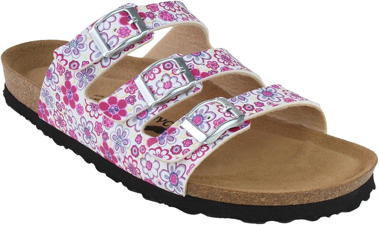 JOE N JOYCE Women Sandals - SynSoft Paris - Cork Slippers