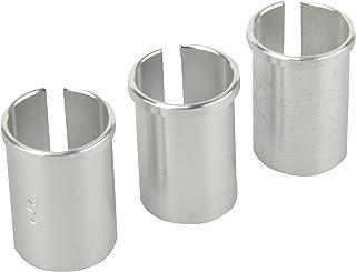 comprar comparacion Fischer - Juego de 3 casquillos reductores para tija de sillín, plata, talla única