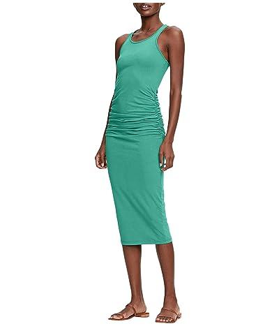 Michael Stars Racerback Dress w/ Shirring (Palm) Women