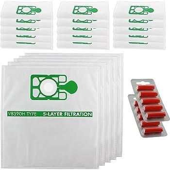 Spares2go - Bolsas de polvo para aspiradoras Numatic Henry Hetty (20 unidades + 10 ambientadores): Amazon.es: Hogar