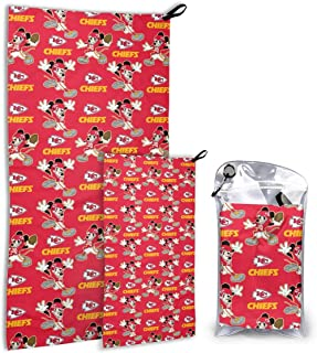 Dalean Washington Redskins Super Absorbent Quick Quick Drying Towel Set Super Compact Weight is Most Suitable for Gym Travel Camp Backpacker Yoga Fitness