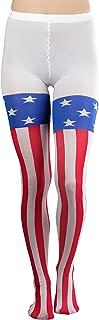 Women's American Flag Print Pantyhose