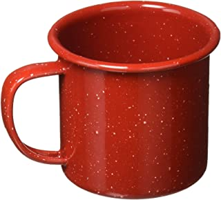 GSI Outdoors Red Graniteware Cup, 12 Ounce