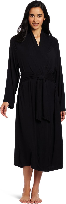 Casual Moments Women's 48Inch Shawl Collar Wrap Robe