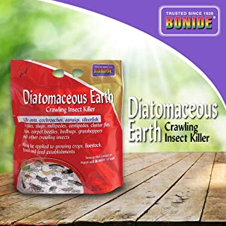 Bonide (BND121) - Diatomaceous Earth, Ready to Use Crawling Bug/Roach Killer (5 lb.)