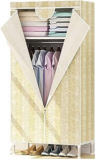 XINYALAMP Armoire Oxford Tissu Oxford Tissu Simple Assembly Placard Armoire Armoire de Rangement en Acier renforcé Cabinet...