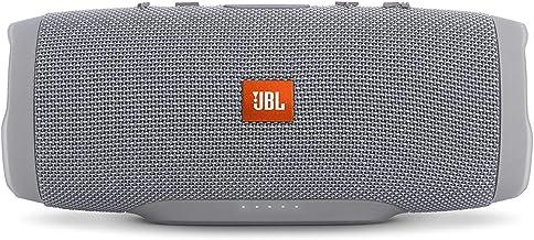 JBL Charge 3 Waterproof Bluetooth Speaker -Gray (Renewed)