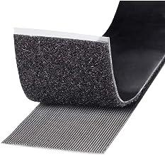 TOOLCRAFT KL50X1000C Klittenband Om vast te plakken Haak- en lusdeel, Extra sterk (l x b) 1000 mm x 50 mm Zwart 1 m