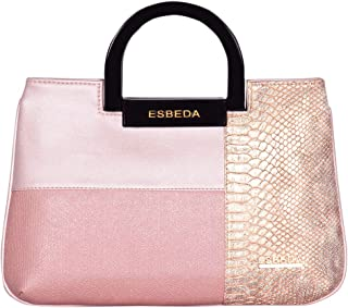 ESBEDA Pink Color Medium Size Cuero Armbag For Women