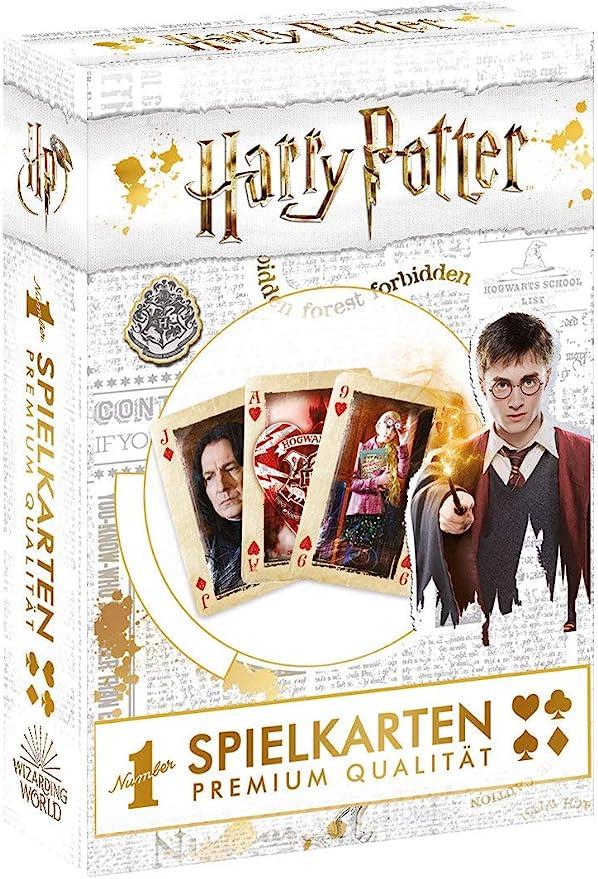 Winning Moves Juego de Cartas de Harry Potter.