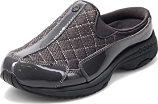 Easy Spirit Womens Traveltime Clogs Flats Casual - Grey