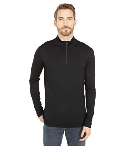 Smartwool Merino 150 Base Layer 1/4 Zip (Black) Men