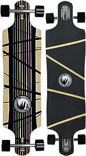 PARADISE Paris Prism Drop Through Longboard Complete with Paris Trucks