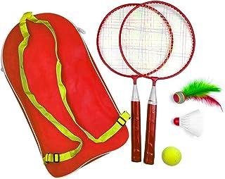 7aaab1568 SparY Raqueta de Bádminton 1 Set Niños Bebé Juegos Exterior Bádminton Juego de  Tenis Educativo con