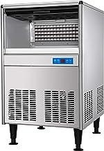 VEVOR Machine à Glaçons Professionnel, Machine à Glace Commerciale 57 kg/ 24 h, Fabrique Glaçons sous le Comptoir en Acier...