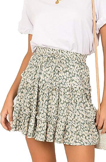 cute boho skirts, green boho skirt
