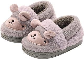 ZOGEME Zapatillas de Estar por Casa para Niños Niñas Lindo Animales Pantuflas Invierno Zapatos de Interior Cálidas