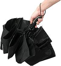 Automatic Umbrella Auto Open Close Compact Folding Anti Rain Windproof 10Ribs Fiberglass for Everyone