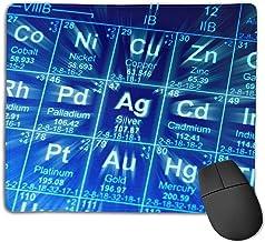 Tavola periodica Degli elementi antiscivolo Mousepad. Tappetini per Mouse da gioco in Gomma antiscivolo Mousepad