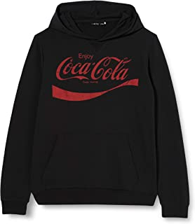 NAME IT Nlncocacola Jing Sweat BRU Box LIC Suter Pulver para Niños