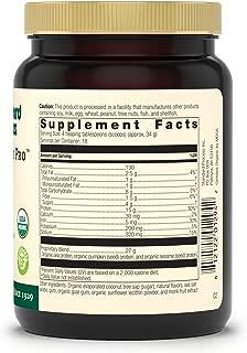 Standard Process - Veg-E Complete Pro Vanilla - Organic Plant-Based Protein Blend, 15 g Protein, Calcium, Iron, Potassium, Essential Amino Acids, Vegan, Gluten Free, Non-GMO - 22 oz.