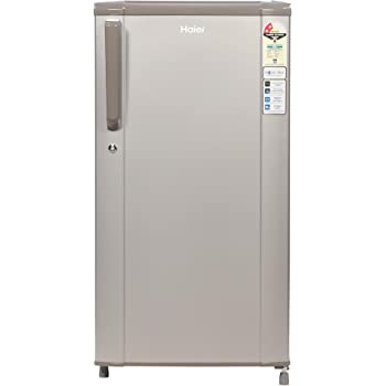 Haier 170 L 2 Star Direct-Cool Single Door Refrigerator (HED-17TMS, Moon Silver)