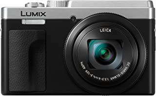 Panasonic LUMIX TZ95 High Zoom, 4k Video, Leica Lens Digital Compact Camera, Silver/Black (DC-TZ95GN-S)