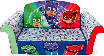 مبلمان بادبادک - کودکان 2 در 1 فلیپ باز فوم مبل، PJ ماسک فلیپ باز مبل