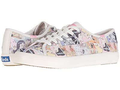 Keds Keds x Betty and Veronica Kickstart Comic (Pink Multi Twill) Women