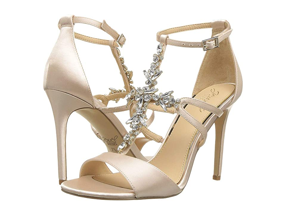 Jewel Badgley Mischka Galvin (Champagne Satin) High Heels