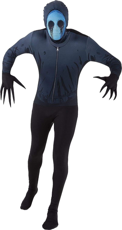 Generique - Costume Eyeless Jack Adulto Morphsuits M (160 cm Max) Costume Eyeless Jack Adulto Morphsuits M (160 cm Max)