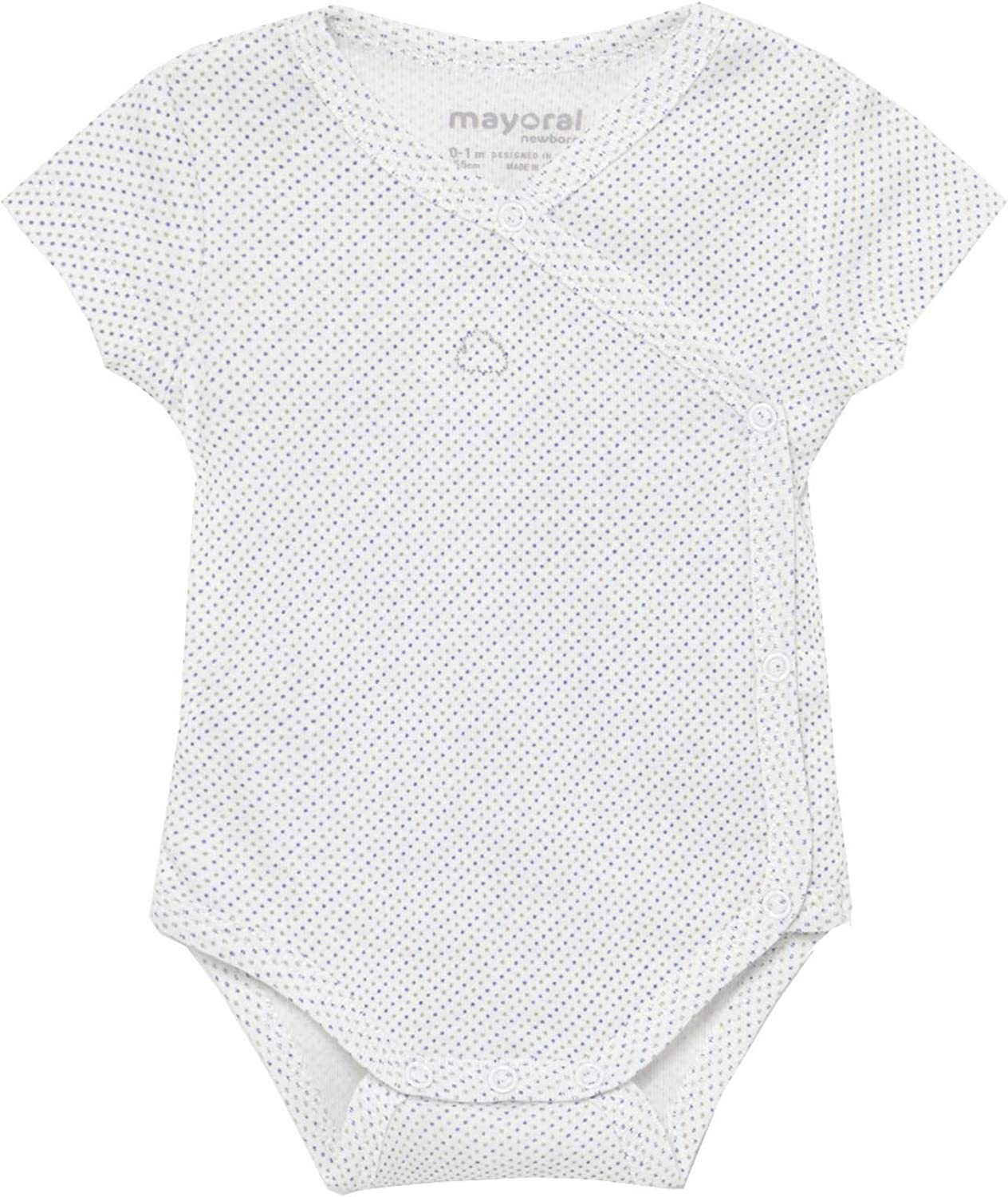 Mayoral - Short Sleeve Deluxe Bodysuit for Baby-Boys 1789 35% OFF Blue