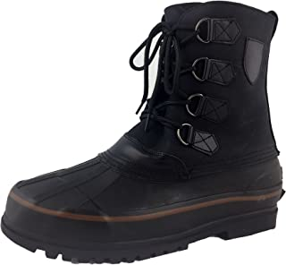 LABO Men's Brown10 Winter Snow Hunting Boots Shoes Waterproof Insulated 108