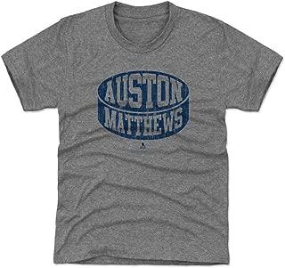 500 LEVEL Auston Matthews Toronto Hockey Kids Shirt - Auston Matthews Puck