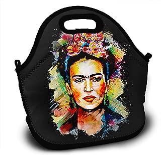 SBUEHARE Frida Kahlo Water Resistant Portable Lunch Bag Picnic Outdoor Travel Handbag