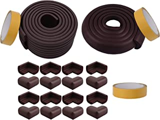Store2508® Combo Pack of Child Safety Strip Cushion & Corner Guards for Baby Safety Child Proofing LY824M