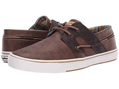 Tommy Bahama Stripe Breaker (Brown/Dark Brown) Men